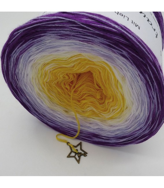 Morgenstern (morning star)  - 4 ply gradient yarn - image 5