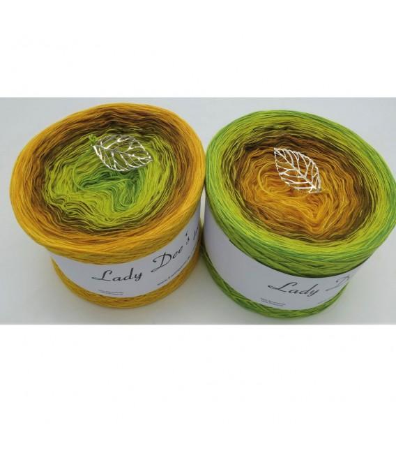 Schilf im Wind (Reeds in the wind) - 4 ply gradient yarn - image 1