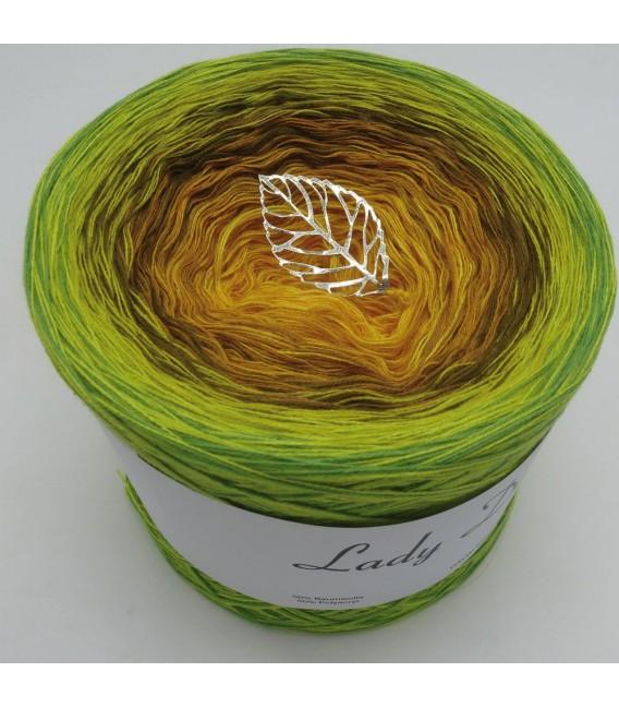 Schilf im Wind - Farbverlaufsgarn 4-fädig - Bild 2
