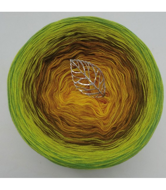 Schilf im Wind (Reeds in the wind) - 4 ply gradient yarn - image 3