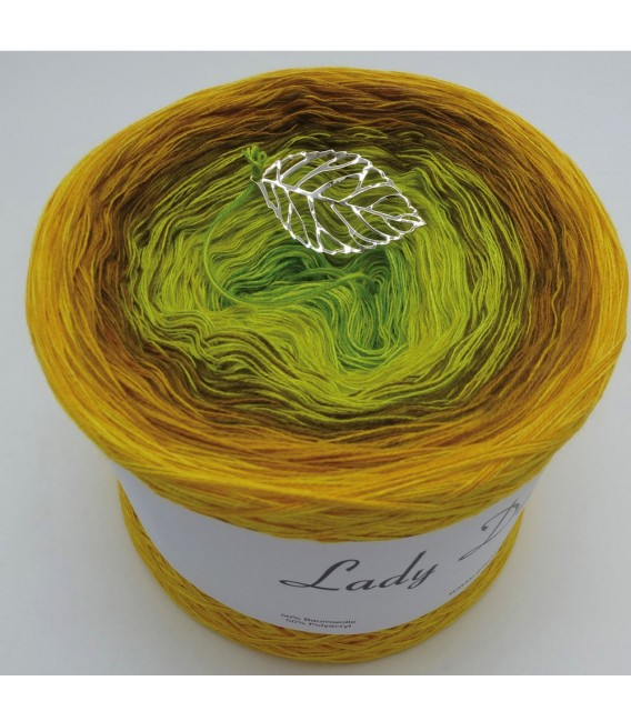 Schilf im Wind (Reeds in the wind) - 4 ply gradient yarn - image 6