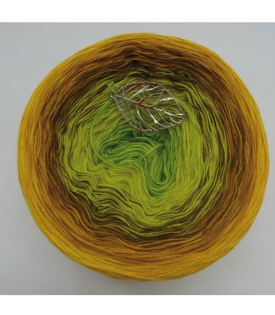 Schilf im Wind - Farbverlaufsgarn 4-fädig - Bild 7