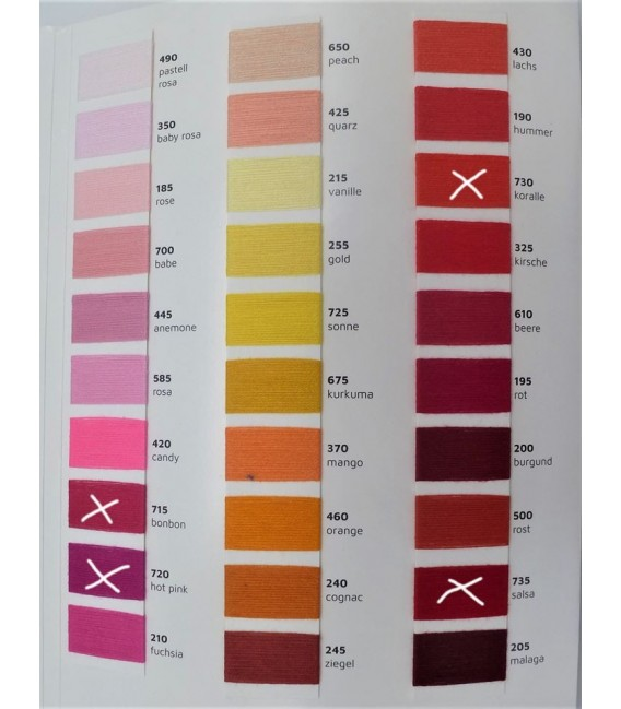 Bobbel mit Farbverlauf - Wunschwicklung 2 fädig. Sie können bis zu 5 Farben - Bild 1