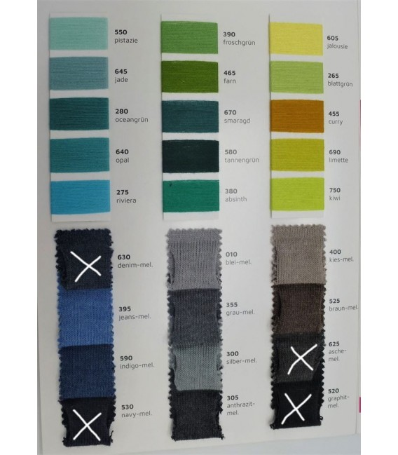 Bobbel with gradient - wish winding 2 threads. You can choose up to 5 colors - image 4