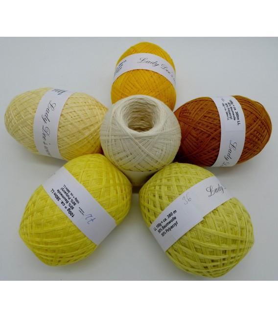 5 lace yarns Uni + 1 skein free - 600g - (60-77-72-36-05-33) - image 1