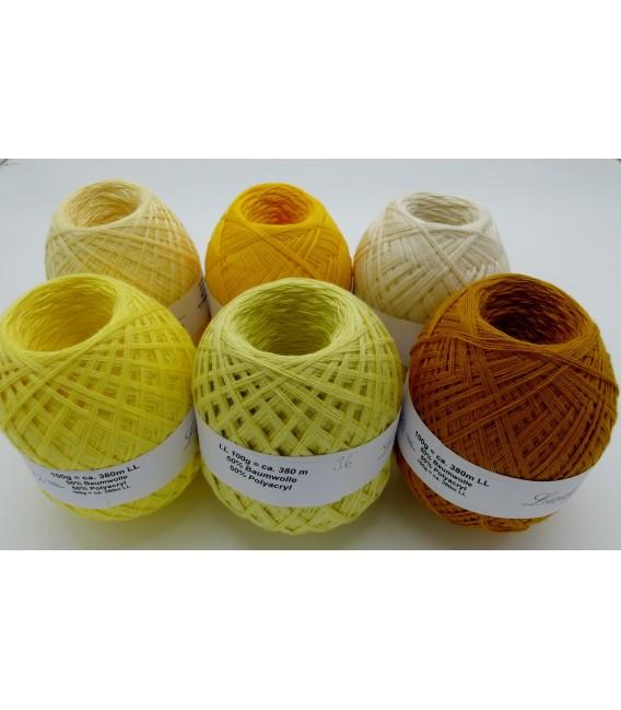 5 lace yarns Uni + 1 skein free - 600g - (60-77-72-36-05-33) - image 2