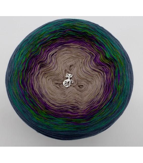 Pfauenauge - Farbverlaufsgarn 4-fädig - Bild 3