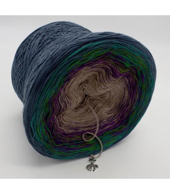 Pfauenauge - Farbverlaufsgarn 4-fädig - Bild 4