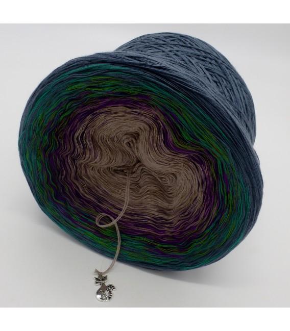 Pfauenauge - Farbverlaufsgarn 4-fädig - Bild 5