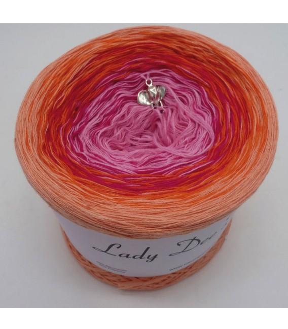Abendglut (Evening embers) - 4 ply gradient yarn - image 2