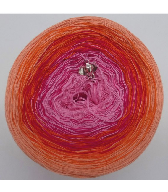 Abendglut (Evening embers) - 4 ply gradient yarn - image 3