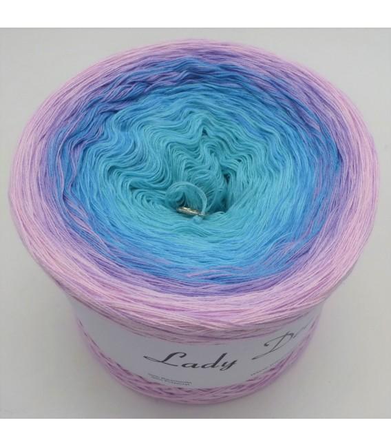 Baby Blue (Bleu bébé) - 4 fils de gradient filamenteux - Photo 2
