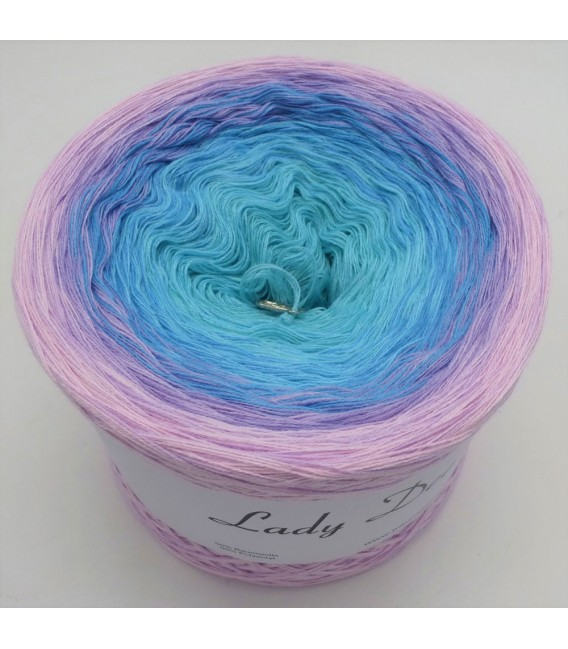 Baby Blue - 4 ply gradient yarn - image 2