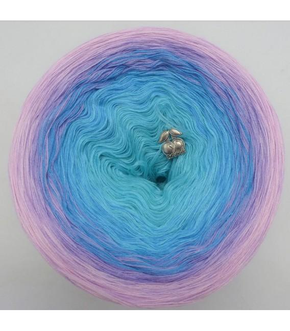Baby Blue - Farbverlaufsgarn 4-fädig - Bild 3