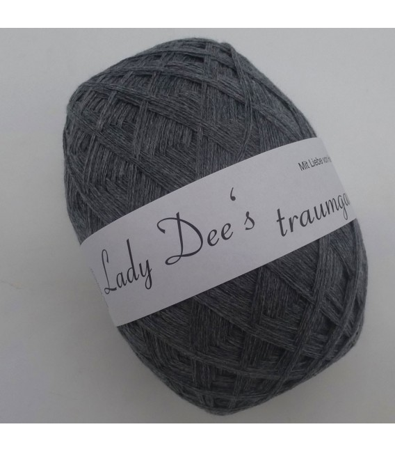 Lady Dee's Lace yarn - gray mottled - image