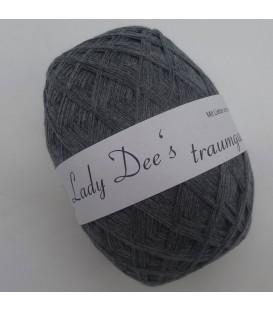 Lady Dee's Lace Garn - Grau meliert - Bild