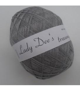 Lady Dee's Lace yarn - mottled lead - image