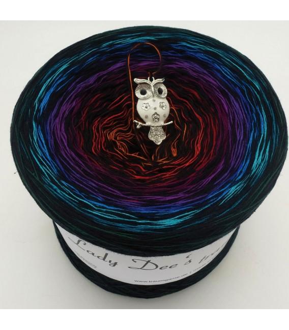 Sonderbobbel Nr. 7 - Farbverlaufsgarn 4-fädig - Bild 1