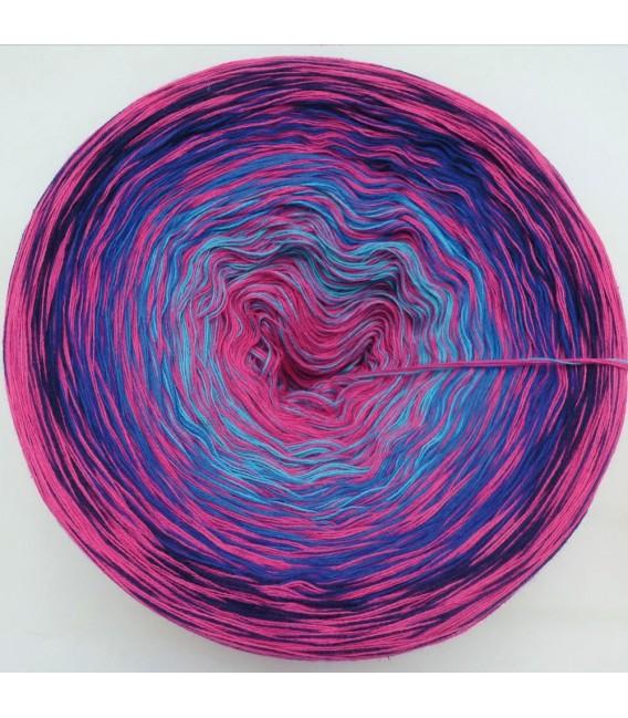 Sonderbobbel Nr. 9 - Farbverlaufsgarn 4-fädig - Bild 3