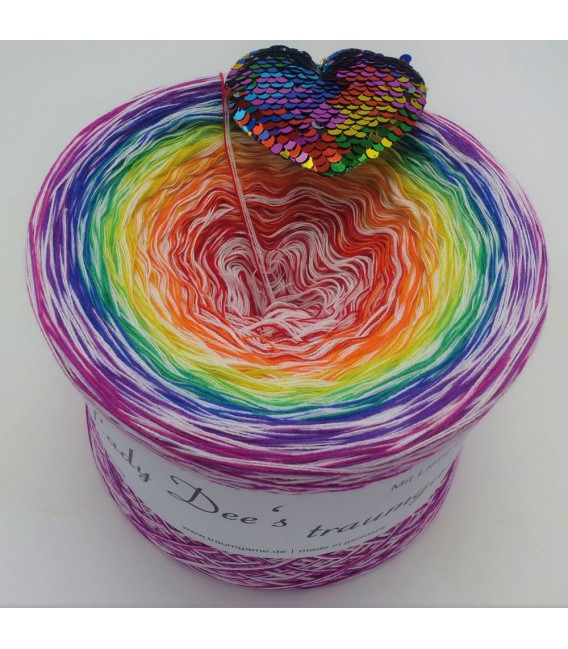 Lady Rainbow - Farbverlaufsgarn 4-fädig - Bild 1
