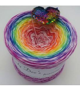 Lady Rainbow - 4 ply gradient yarn - image 1