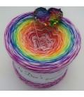 Lady Rainbow - 4 fils de gradient filamenteux