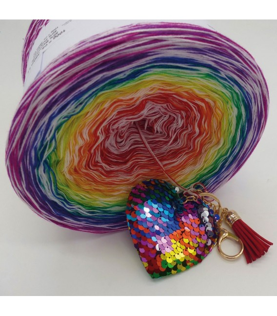 Lady Rainbow - Farbverlaufsgarn 4-fädig - Bild 3