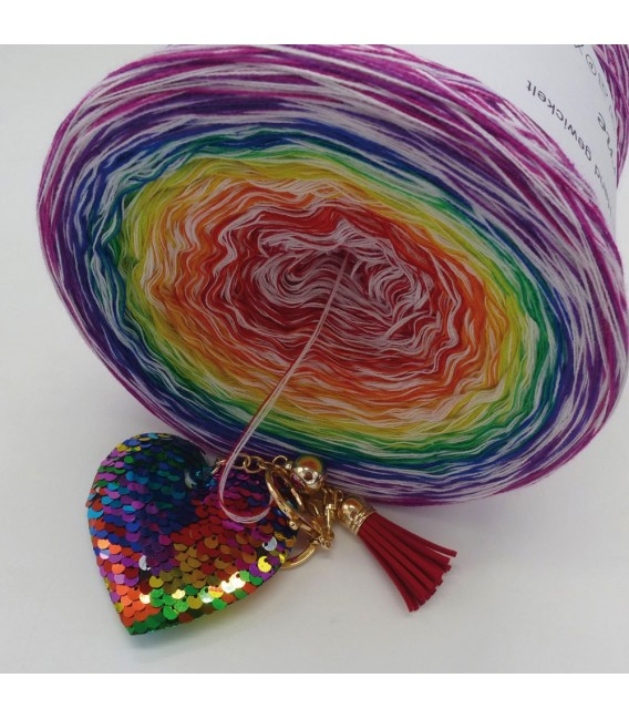 Lady Rainbow - Farbverlaufsgarn 4-fädig - Bild 4