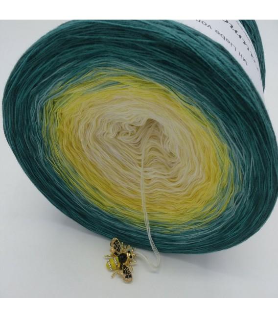 Blütenkelch - Farbverlaufsgarn 4-fädig - Bild 4