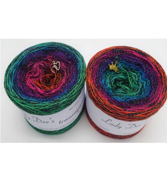 Farbrakete (color rocket) - 4 ply gradient yarn - image 1