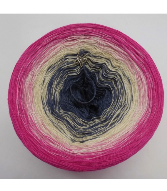 Wilder Mohn (Wild poppy) - 4 ply gradient yarn - image 3