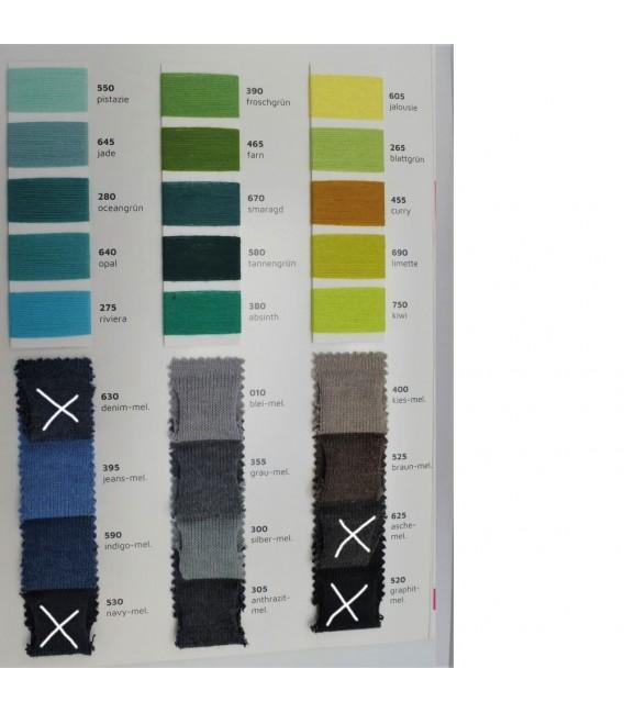 Leipziger Allerlei - Wunschfarbe Außen - Farbverlaufsgarn 4-fädig - Bild 2