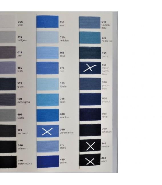 Leipziger Allerlei - Wunschfarbe Außen - Farbverlaufsgarn 4-fädig - Bild 3