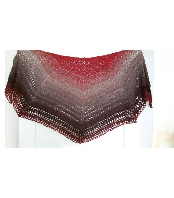"Crochet Pattern shawl ""Chaleur"" by Ursula Deppe-Krieger - image 1"