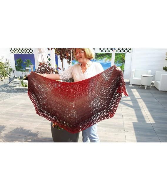 "Crochet Pattern shawl ""Chaleur"" by Ursula Deppe-Krieger - image 2"