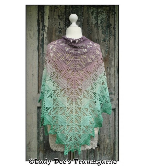 Crochet Pattern shawl Dream Catcher by Tanja Schuster - image 1