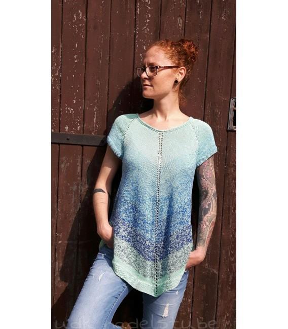 modèle de tricot tunique Frühlingswind de Ursula Deppe-Krieger - photo 1
