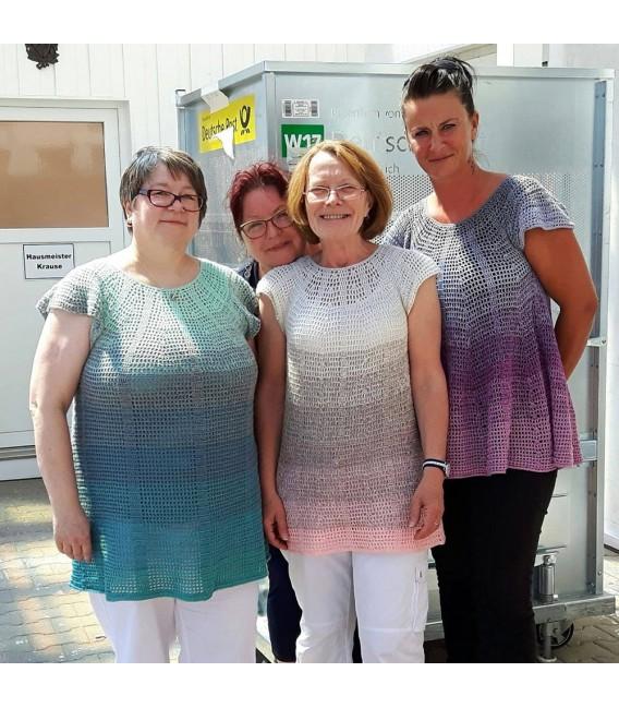 Crochet Pattern tunic LuftiKuss by Ursula Deppe-Krieger - image 2