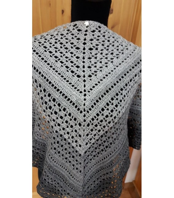 "Crochet Pattern shawl ""Made for You"" by Ursula Deppe-Krieger - image 1"