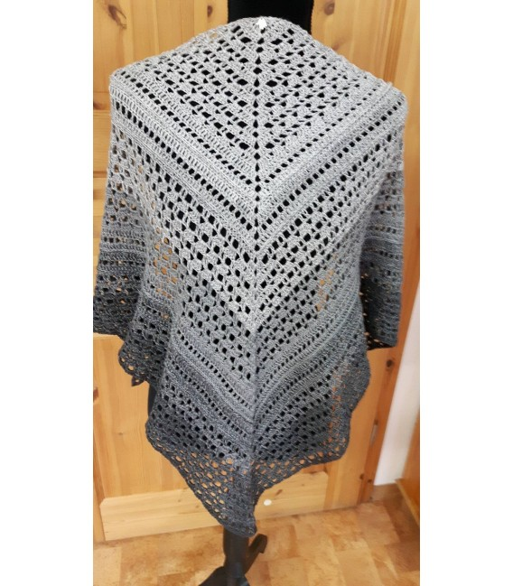 "Crochet Pattern shawl ""Made for You"" by Ursula Deppe-Krieger - image 2"
