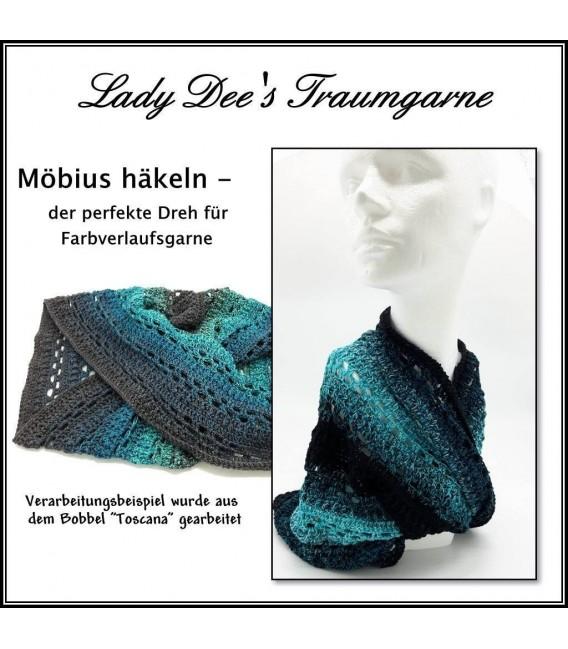 """modèle de crochet Moebius Echarpes """"Santa Fe"""" de Ursula Deppe-Krieger - photo 1"""