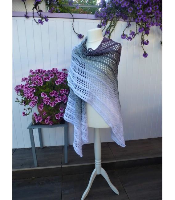 "modèle de crochet poncho ""Silhouette"" de Tanja Schuster - photo 2"