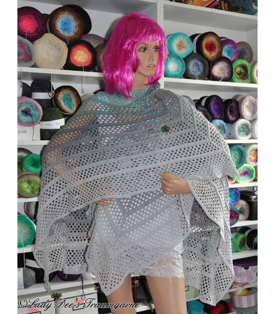 """Crochet Pattern poncho """"Silhouette"""" by Tanja Schuster - image 12"""