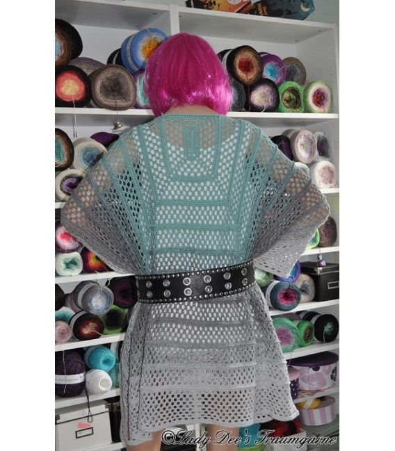 """Crochet Pattern poncho """"Silhouette"""" by Tanja Schuster - image 13"""