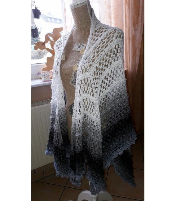 """Crochet Pattern poncho """"Silhouette"""" by Tanja Schuster - image 19"""