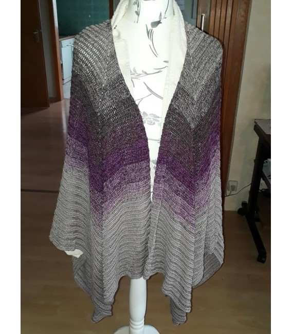 """Crochet Pattern poncho """"Silhouette"""" by Tanja Schuster - image 20"""