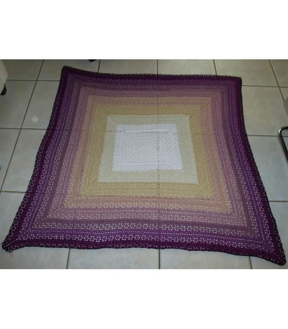 "Crochet Pattern shawl blanket Souls Warmer tunics scarf ""Summer Kiss"" by Ursula Deppe-Krieger - image 4"