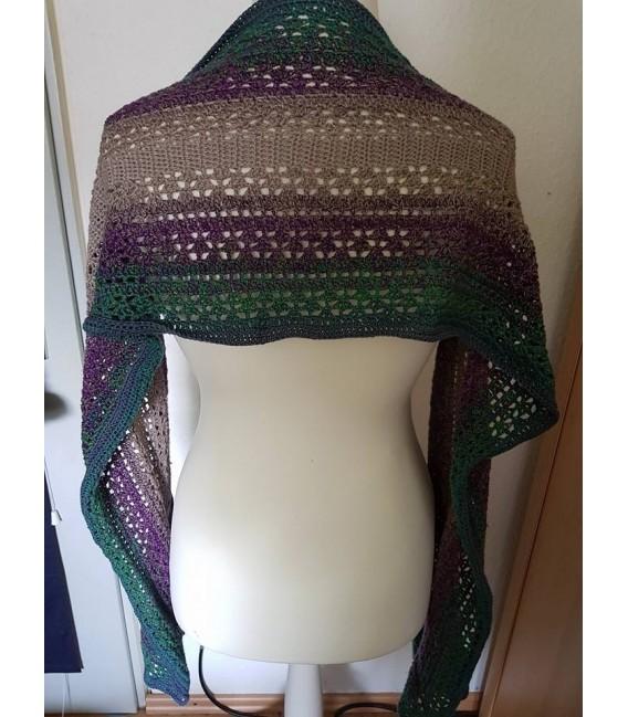 "Crochet Pattern shawl blanket Souls Warmer tunics scarf ""Summer Kiss"" by Ursula Deppe-Krieger - image 5"