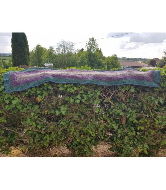 "Crochet Pattern shawl blanket Souls Warmer tunics scarf ""Summer Kiss"" by Ursula Deppe-Krieger - image 6"