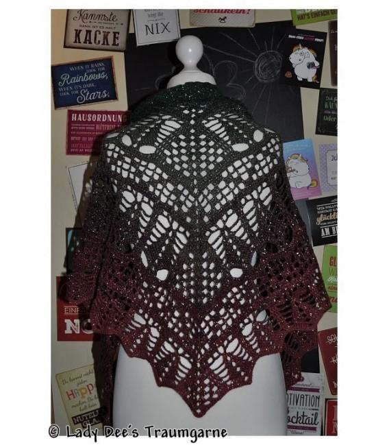 """Crochet Pattern shawl """"Tannenbäumchen"""" by Tanja Schuster - image 1"""